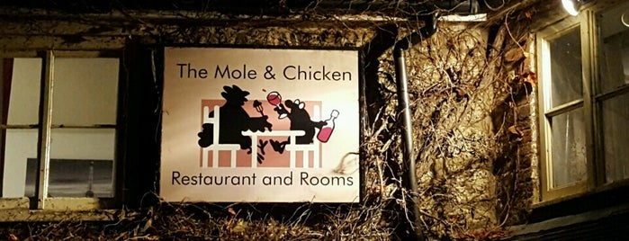 The Mole & Chicken is one of Lieux qui ont plu à Carl.