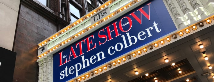 The Late Show with Stephen Colbert is one of New York.
