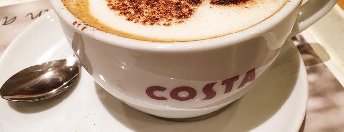 Costa Coffee is one of Orte, die Brett gefallen.
