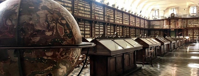 Biblioteca Casanatense is one of Favs I'd travel for.
