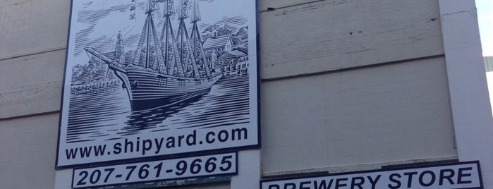 The Shipyard Brewing Company is one of Breweries USA.