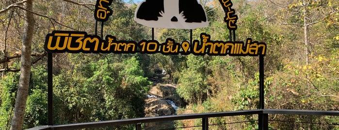 Mae Sa Waterfall is one of Tempat yang Disukai Jana.
