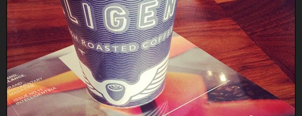 Intelligentsia Coffee is one of Orte, die Rachel gefallen.