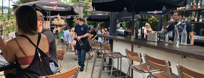 The Dawson is one of Chicago Patios.