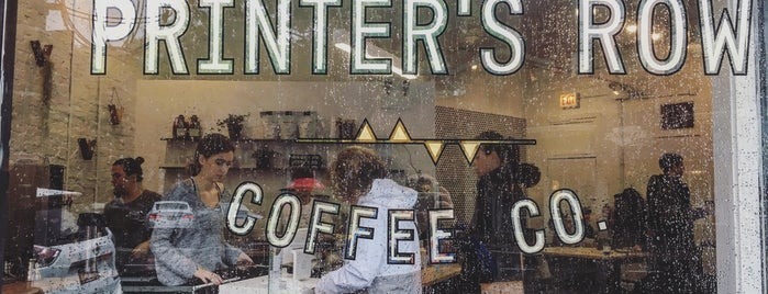 Printers Row Coffee Co is one of Independent Coffee Shops - Chicago.