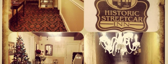 Historic Streetcar Inn is one of New orleans.