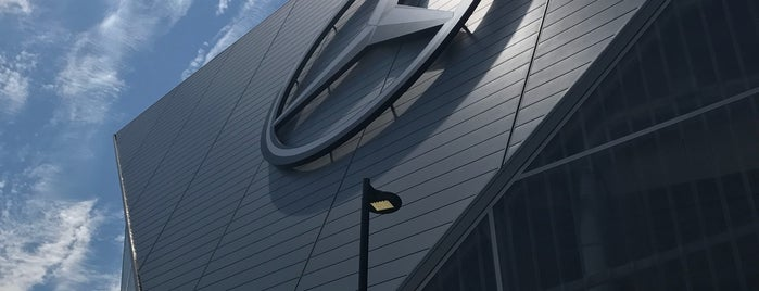 Mercedes-Benz Stadium is one of The Most Popular Football Stadiums in the US.