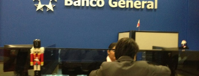 Banco General is one of Locais curtidos por Frederic.