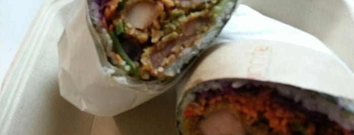 Sushirrito is one of My favorite places to eat in SF.