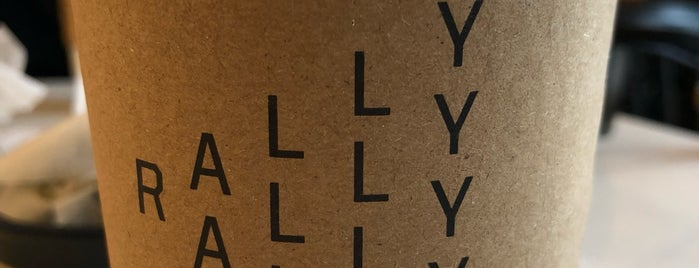 Rally is one of Philly coffee places.