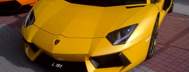 Lamborghini Manhattan is one of Check In.