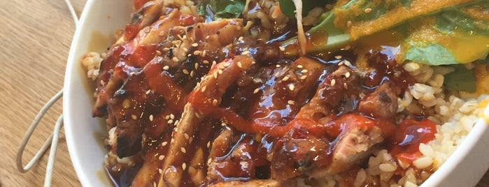 Glaze Teriyaki is one of Lieux qui ont plu à Danyel.