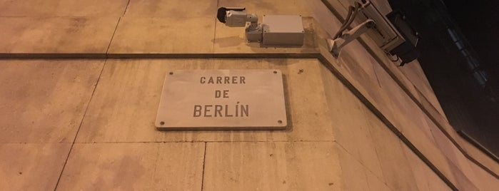Carrer de Berlín is one of Barça (BCN).