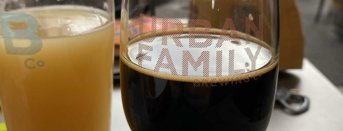 Urban Family Brewing Co. is one of Beer Spots.