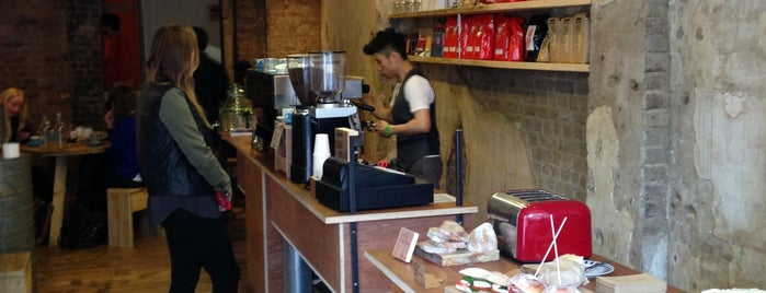 Vagabond N7 is one of Specialty Coffee Shops Part 2 (London).