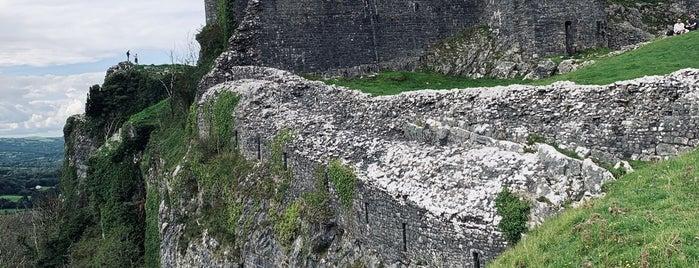 Carreg Cennen Castle is one of Woot!'s Wales Hot Spots.