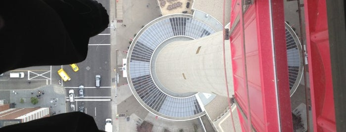 Calgary Tower Observation Deck is one of #ExploreAlberta.