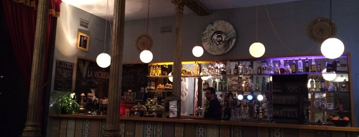 La Victoria Cafe-Teatro is one of MADRID Cool spots.