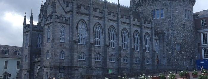 Dublin Castle is one of Europe 16.
