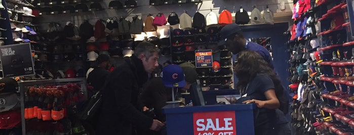 Lids is one of NYC Shop til you drop.