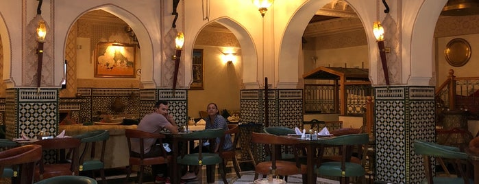 Restaurant Palais Zahia is one of Tangier.
