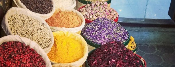 Traditional Spices Market is one of Dubai.