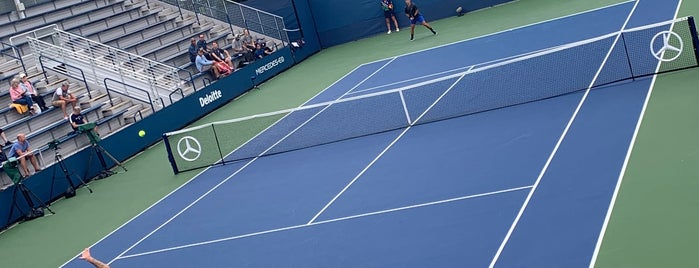 Court 10 - USTA Billie Jean King National Tennis Center is one of Must-visit Stadiums in Flushing.