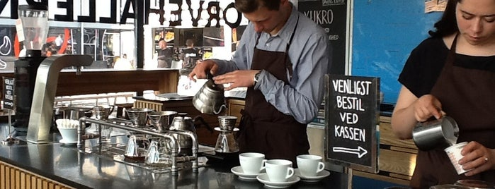 The Coffee Collective is one of Copenhagen To-Do!.