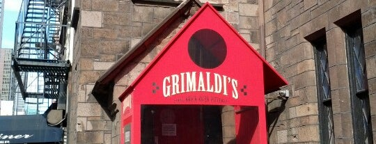 Grimaldi's is one of NYC Pizza.