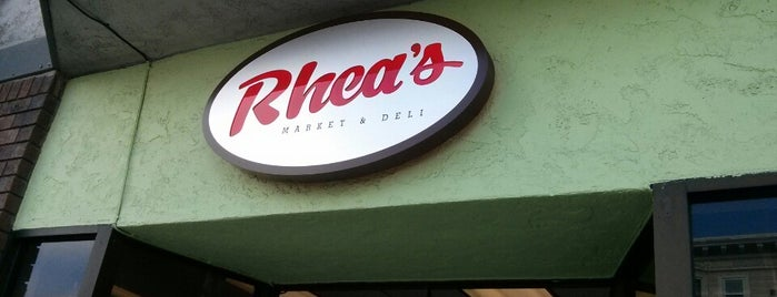 Rhea's Market & Deli is one of SF Welcomes You.