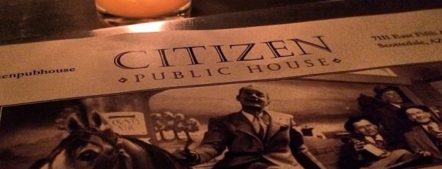 Citizen Public House is one of What's for dinner?.