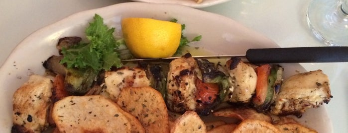 Telly's Taverna is one of Queens Eats.