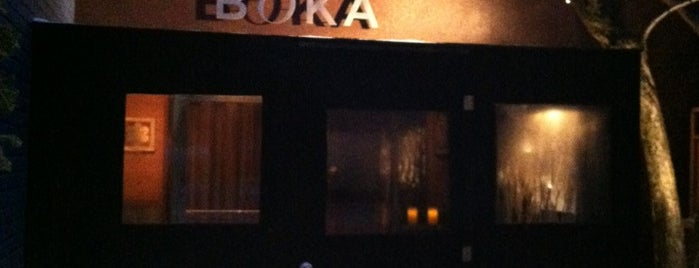 Boka is one of Visited Restaurants.