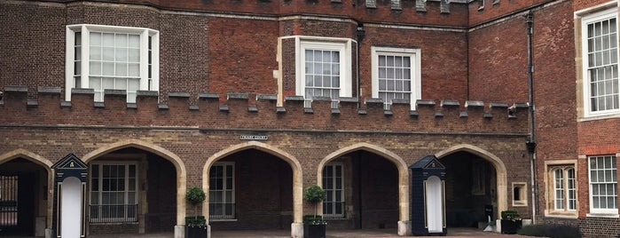 Friary Court is one of Around The World: London.