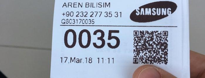 Samsung Servis - Aren Bilişim is one of Izzet'in Beğendiği Mekanlar.