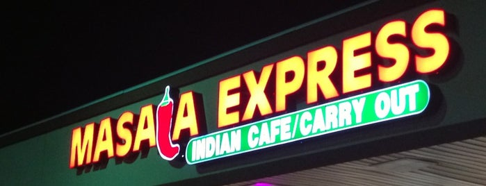Masala Express is one of DC Restaurants.