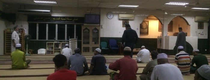 Surau As-Sahabah is one of masjid.