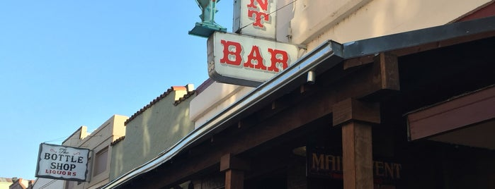 Main Event Bar is one of Northern CALIFORNIA: Vintage Signs.