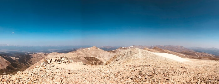 Mt. Sherman Summit is one of 14ers.