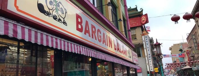 Bargain Bazaar is one of San Francisco.