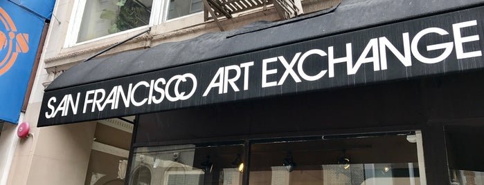 San Francisco Art Exchange is one of San Francisco Dos.