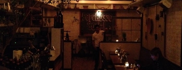 Pepe Rosso Social is one of Dinner.