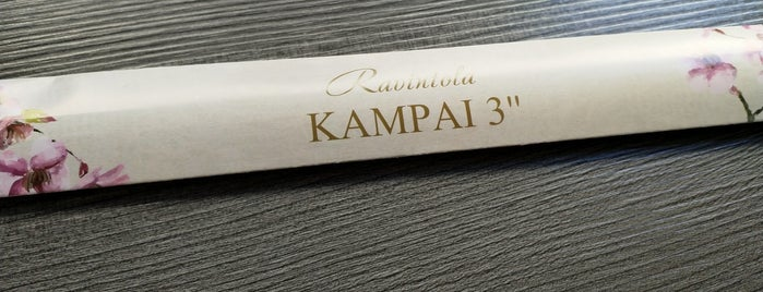 Kampai3 is one of TODO Finland.