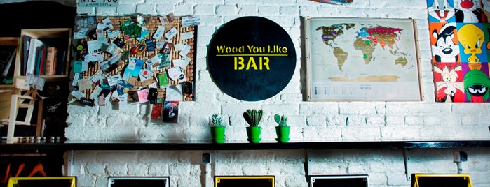 Wood You Like Bar is one of Lugares favoritos de Максим.