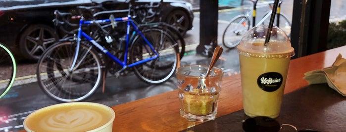 Kaffeine is one of London ••Spottet••.