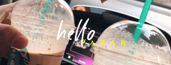 Starbucks is one of Bego 님이 좋아한 장소.