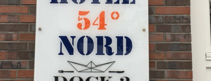 Hotel 54 Grad Nord is one of Sylt ••Spotted••.
