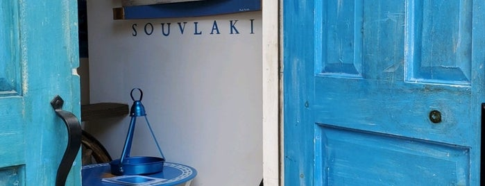 Blue Door Souvlakia is one of BROOKLYN - Bay Ridge.