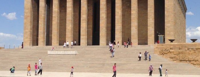 Anıtkabir is one of Turkey Travel Guide.