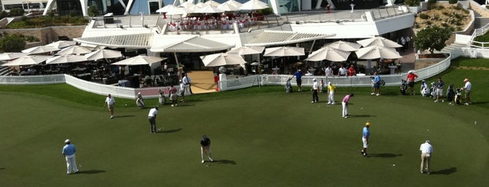 Emirates Golf Club is one of Dubai 2018.
